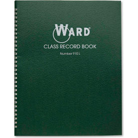 "Ward® Class Record Book 910L, 11"" x 8-1/2"", White, 9-10 Weeks"