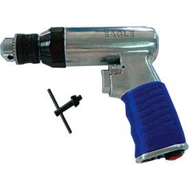 """Eagle EGA-600, 1/4"""" Pistol Air Drill, 0.7 HP, 2200 RPM, 4 CFM, Reversible, 90 PSI"""