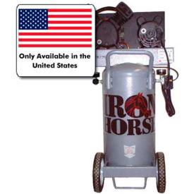 Iron Horse IHP5120V1-US, Portable Electric Air Compressor, 5 HP, 20 Gallon, Vertical, 5.6 CFM