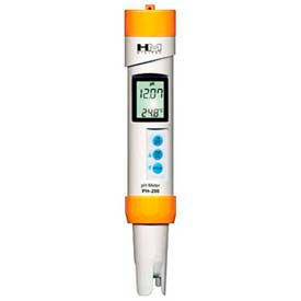 HM pH200 Waterproof ph Meter, 1-14 Range by