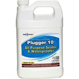 Plugger 10 Clear Acrylic Flat Sheen Surface Sealer, Gallon Bottle 4/Case - CR-1501CS