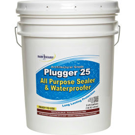 Plugger 25 Clear Acrylic Flat Sheen Surface Sealer, 5 Gallon Pail 1/Case - CR-1526