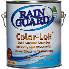 Color-Lok Semi Trans Acrylic Base Stain, White/Pastel Gallon Bottle 1/Case - CS-0801