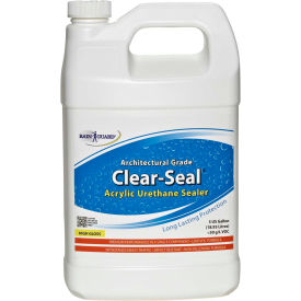 Clear Seal High Gloss Urethane/Acrylic Surface Sealer Gallon Bottle 4/Case - CU-0101CS