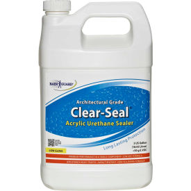 Clear Seal Low Gloss Urethane/Acrylic Surface Sealer Gallon Bottle 4/Case - CU-0201CS