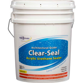 Clear Seal Low Gloss Urethane/Acrylic Surface Sealer 5 Gallon Pail 1/Case - CU-0205