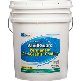 VandlGuard RTU Anti-Graffiti Non-Sacrificial Coating, 5 Gallon Pail 1/Case - VG-7000