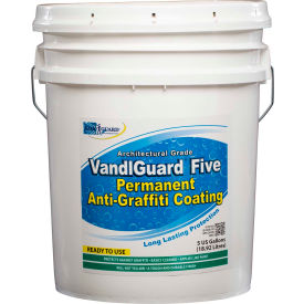 VandlGuard Five RTU Anti-Graffiti Non-Sacrificial Coating, 5 Gallon Pail 1/Case - VG-7004