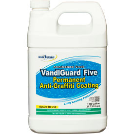 VandlGuard Five RTU Anti-Graffiti Non-Sacrificial Coating, Gallon Bottle 4/Case - VG-7005CS