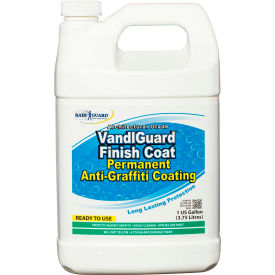 VandlGuard Finish Coat Anti-Graffiti Non-Sacrificial Coating, Gallon Bottle 1/Case - VG-7009