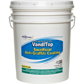 Vandltop RTU Sacrificial Anti-Graffiti Coating, 5 Gallon Pail 1/Case - VG-7100