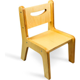 """Whitney Plus Chair - 12"""" Seat Height - Natural"""