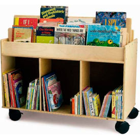 Whitney Brothers Two-Sided Library Cart