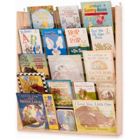 Whitney Brothers Wall-Mounted Book Display