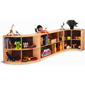 Whitney Brothers Curved Storage - Back Curve In