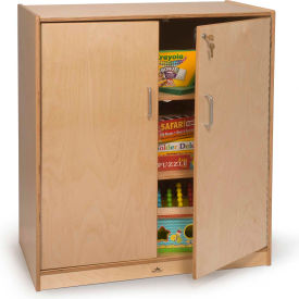 Whitney Brothers Lockable Supply Cabinet