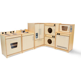 Whitney Brothers Contemporary Kitchen Set - Natural