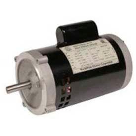 Worldwide Electric Jet Pump Motor NATJ12-36-56JB, GP, TEFC, REM-C, 3 PH, 56J, 208-230/460V, 1/2 HP