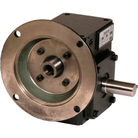 Worldwide HdRF154-60/1-R-56C Cast Iron Right Angle Worm Gear Reducer 60:1 Ratio 56C Frame