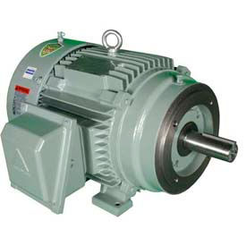 Hyundai T-Frame Motor IEEE2-18-145TC, TEFC, Rigid-C, 3 PH, 145TC, 2 HP, 460V, 3 FLA