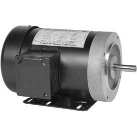 Worldwide Electric GP Motor T1.5-18-56CB, TEFC, REM-C, 1 PH, 56C, 1.5 HP, 7.6 FLA, Less Overload