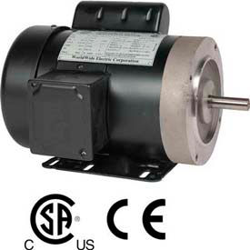 Worldwide Electric GP Motor FT34-18-56CB-OL, TEFC, REM-C, 1 PH, 56C, 3/4 HP, 5.5
