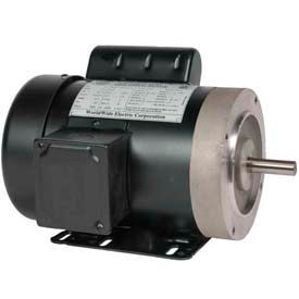 Worldwide Electric Jet Pump Motor TJ13-36-56CB-NOL, GP, TEFC, REM-C, 1 PH, 56C, 115/208-230V, 1/3 HP