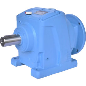 Worldwide Electric WINL87-80/1-182/4TC,Helical Inline Speed Reducer,182/4TC Input Flange,80:1 Ratio