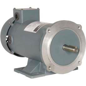Worldwide Electric PM DC Motor WPMDC12-18-12V-56CB, TENV & TEFC, 56C, 12V, 1/2 HP, 1800 RPM