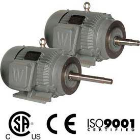 Worldwide Electric CC Pump Motor WWE15-18-254JM, TEFC, Rigid-C, 3 PH, 254JM, 15 HP, 1800 RPM