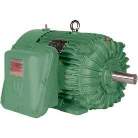 Worldwide Electric EXP Motor XPEWWE15-12-284T, TEXP, Rigid, 3 PH, 284T, 15 HP, 1200 RPM, 18 FLA