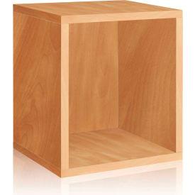 Way Basics Eco Stackable Storage Cube Plus, Natural