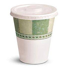 Dixie® Plastic Lids For Sage Design Cold Drink Cups, 12- & 16-Oz., 1,200 Lids/Carton