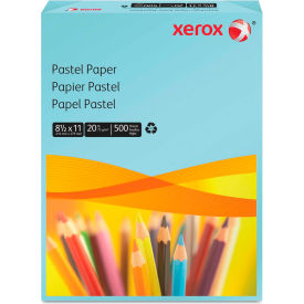 "Colored Paper - Xerox 3R11050 - Blue - 8-1/2"" x 11"" - 500 Sheets"