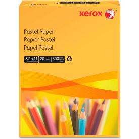 """Xerox® Multipurpose Pastel Colored Paper 3R11055, 8-1/2"""" x 11"""", Gold, 500 Sheets/Ream"""