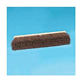 "24"" Floor Brush Head 3-1/4"" Palmyra Fibers, Natural - BWK20124"