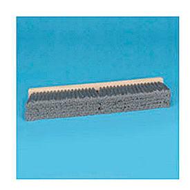 """36"""" Gray Flagged Polypropylene Floor Brush Head w/3"""" Bristles BWK20436 by"""