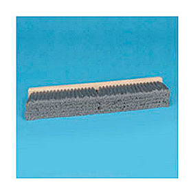 "24"" Gray Flagged Polypropylene Floor Brush Head - BWK20424"