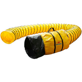 """XPOWER 25'L x 12""""ID Polyester Duct Hose for X-12 - 12DH25"""