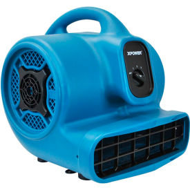 XPOWER Stackable Air Mover, 4 Positions 3 Speeds 1/4 HP - P-400