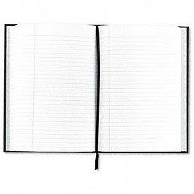 Royale® Business Notebook, Casebound, 5-1/2 x 3-1/2, Black/Gray