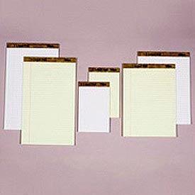 Letr-Trim Perf-Top Legal Pad, Canary, Legal Size, 50 Sheets/Pad, Dozen
