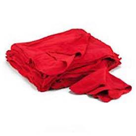 """Red Cotton Shop Towels - 14""""w x 15""""d - UFSN900RST"""