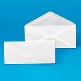 Plain Envelopes, #9, 3-7/8 x 8-7/8, White, 500/Box, 5 Boxes/Carton