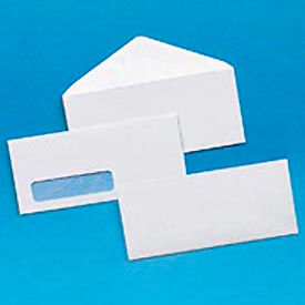 #10 Trade Size Security Tinted Business Envelopes, White, 500/Box