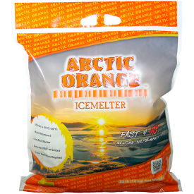 Xynyth Artic Orange Icemelter 22 lb Bag - 100 Bags/Pallet - 200-41021