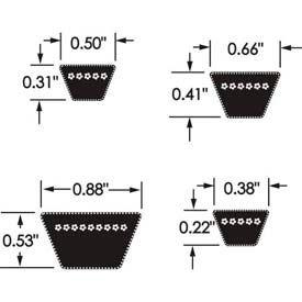 Goodyear® Hy-T® Plus Classical Belt, A36 - Min Qty 15
