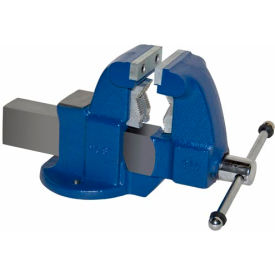 "Yost 3-1/2"" Heavy Duty Combination Pipe & Bench Vise - Stationary Base"