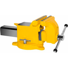 "Yost 10"" High Visibility All Steel Utility Workshop Vise by"