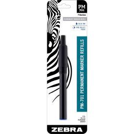 Zebra PM-701 Permanent Marker Refill - Blue
